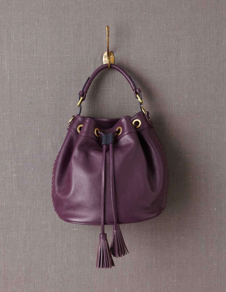 plum purse for Fall