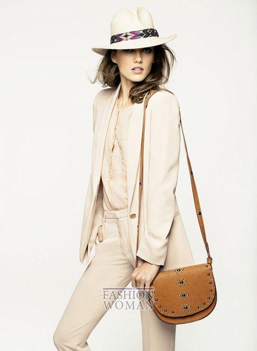Известная модель Кармен Педару (Karmen Pedaru) продолжила свое сотрудничество с испанским брендом Mango и приняла участие в съемках для весенне-летнего лукбука. Эстонская модель продемонстрировала повседневную и нарядную