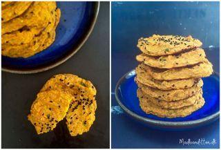Græskarfladbrød med chufa-mel (via Bloglovin.com )