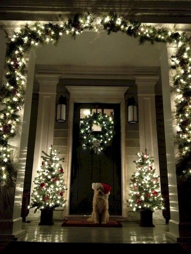 42+ Stunning Outdoor Christmas Decoration Ideas