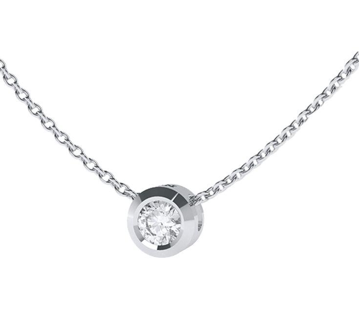 Привлекательное ожерелье из белого золота с ярким бриллиантом. Утонченный дизайн для изысканных леди. Аккуратное украшение подчеркнет Ваш благородный вкус. Ослепительный бриллиантовый блеск наполнит глаза счастьем. Предлагаем Вашему вниманию другие украшения ювелирного бренда Nico Juliany.