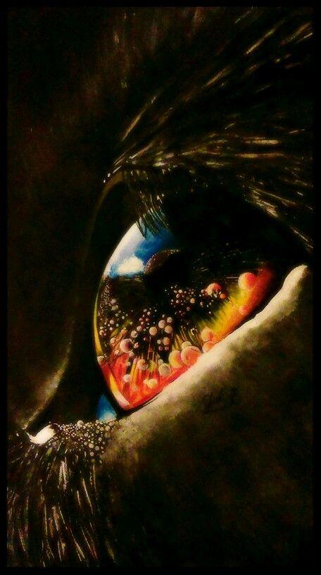 By JuhVik Cat, cat eye, eye
