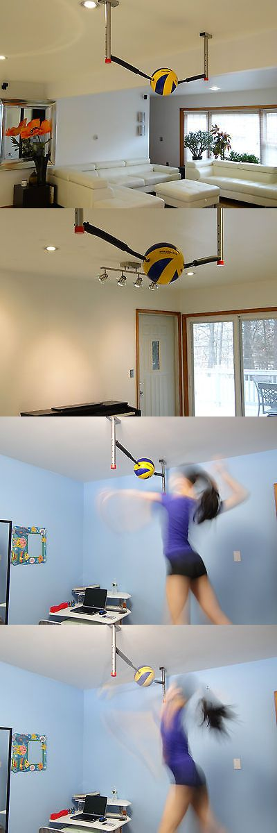 Other Volleyball 2919: Volleyball Spike Trainer Attack Volleyball. Luxury BUY IT NOW ONLY: $135.0