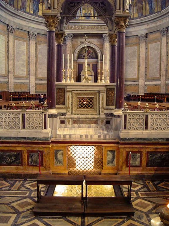 O DIÁRIO DE DEUS: Sim! Aqui está o túmulo de São Paulo Apóstolo ! Te...