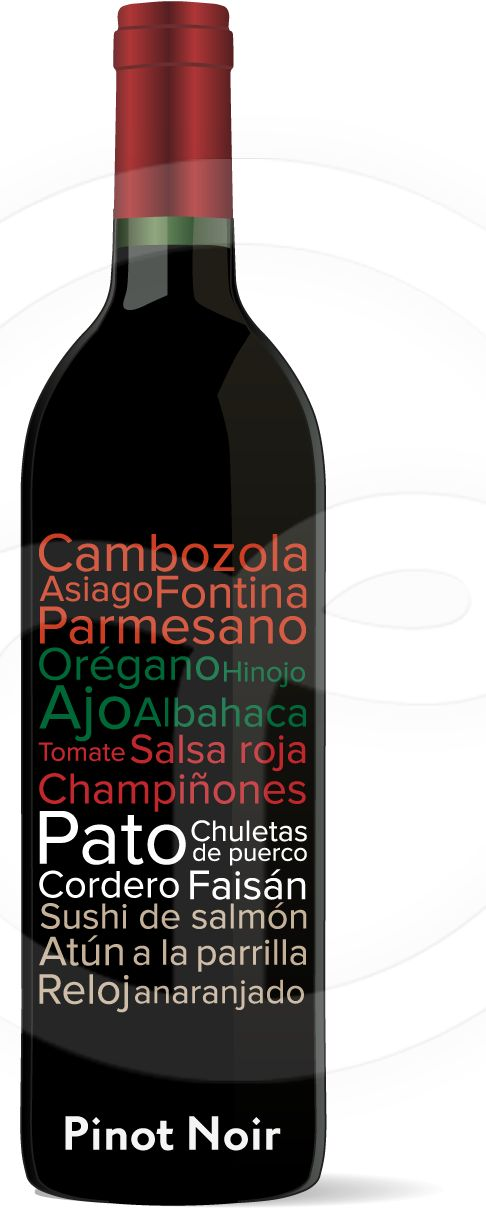 Maridaje Pinot Noir #Vino