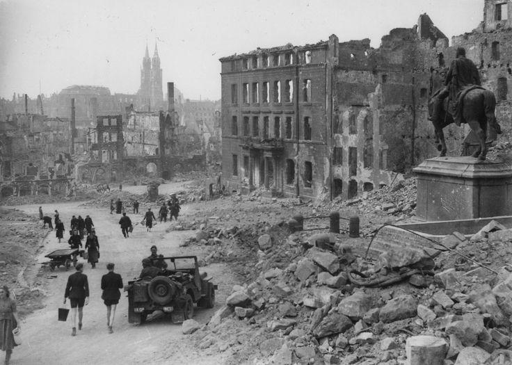 Devastation Germany WWII