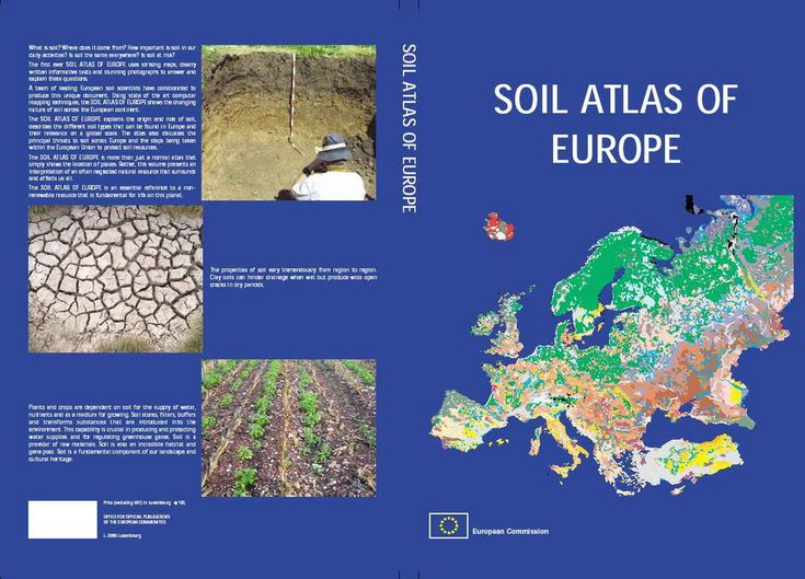 Soil Atlas of Europe - ESDAC - European Commission