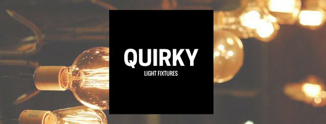 What kind of quirky #light fixture is representative of your design sensibility? This year welcomes quirky lighting into the #home, as it can transform a room with the use of something unusual. Visit our blog to read more.