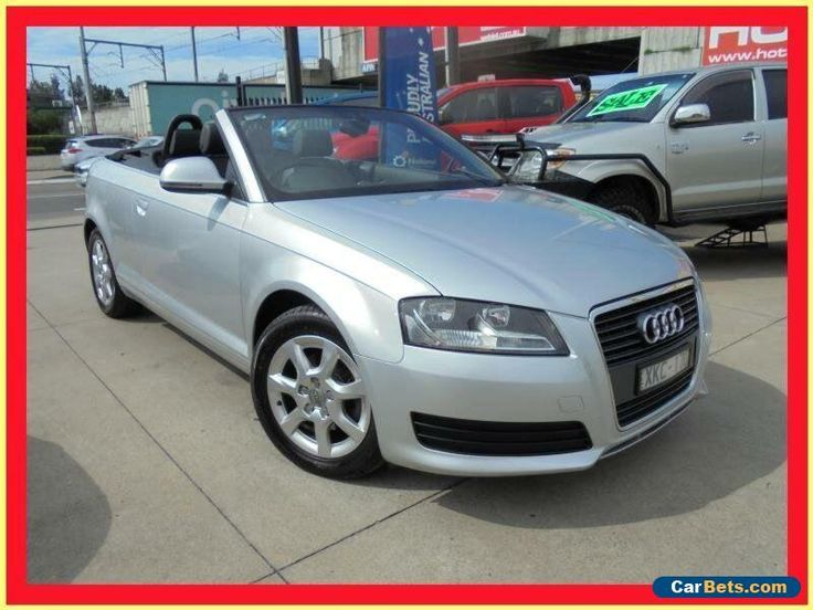 2009 Audi A3 8P MY10 TFSI Attraction Silver 7 Sports Automatic Dual Clutch #audi #a3 #forsale #australia