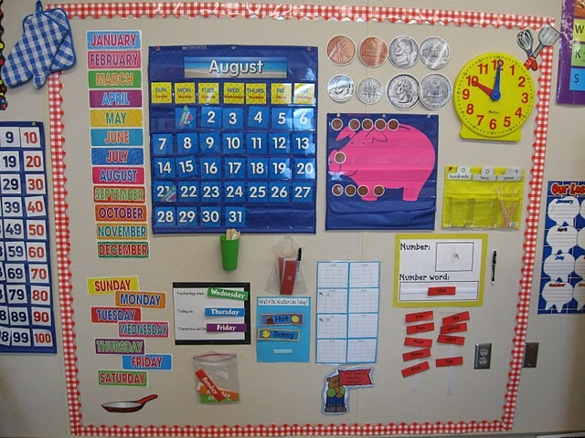 Calendar Board Ideas : Great calendar set up and routine download from