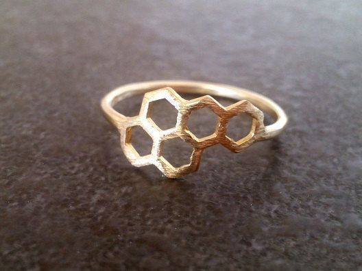 Beautiful 14k gold filled ring => Metal Type - 14k Gold Filled (Tarnish Resistant And Nickel Free) - also available in 925 sterling