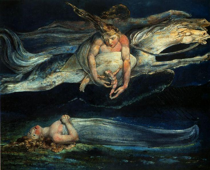 William Blake - Pity. 1795