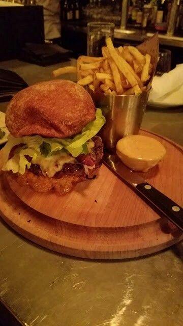 Alder burger found at Tasty and Alder 🍔