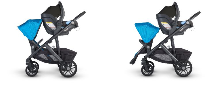 2015 Uppababy Vista - love the set up and how easy it is to access the basket!