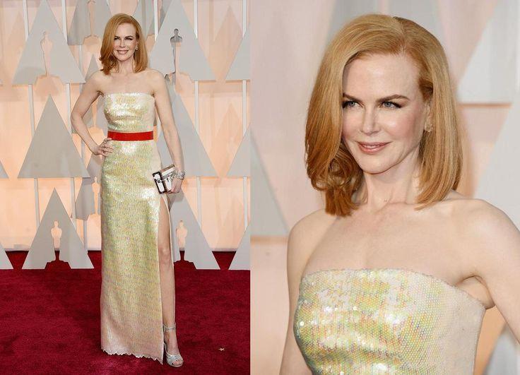 Nicole Kidman torna rossa, si adegua alla tendenza del lomb e la fa sua, capelli lisci, piega perfetta e aria vagamente vintage, da vera signora. Anche lei però ha dei difetti: apparsa un po' troppo magra, risulta quasi statica e l'abito minimal di Louis Vuitton… con quella cintura rossa… non si può vedere! IL VOTO: 6 e ½