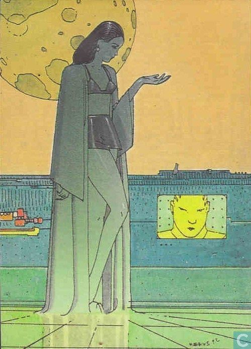 Trading cards - Moebius (collector cards) - Sexual Sorceress