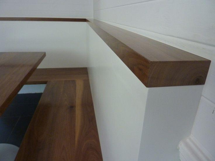Walnut Corner Bench & Table