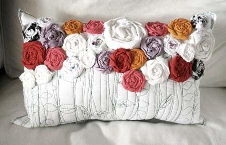 wunderschönes Rosenkissen DIY / rose pillows tutorial