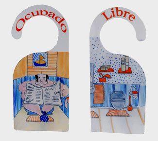 1000 images about colgadores de puerta on pinterest for Colgadores de bano