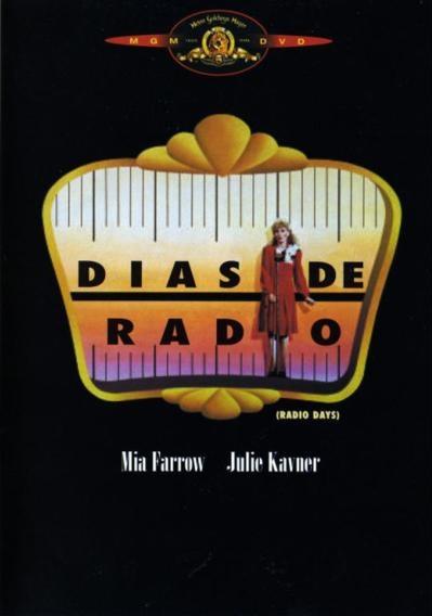 Dias de radio (1987) EEUU. Dir: Woody Allen. Comedia. Xornalismo. Radio - DVD CINE 121