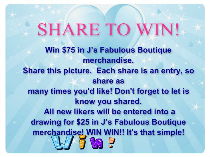 Like and Share Contest