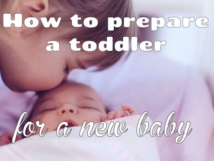 Learn how to prepare a toddler for a new baby.