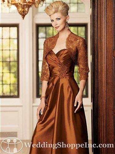 copper mother of the groom dresses |  Jordan 3045