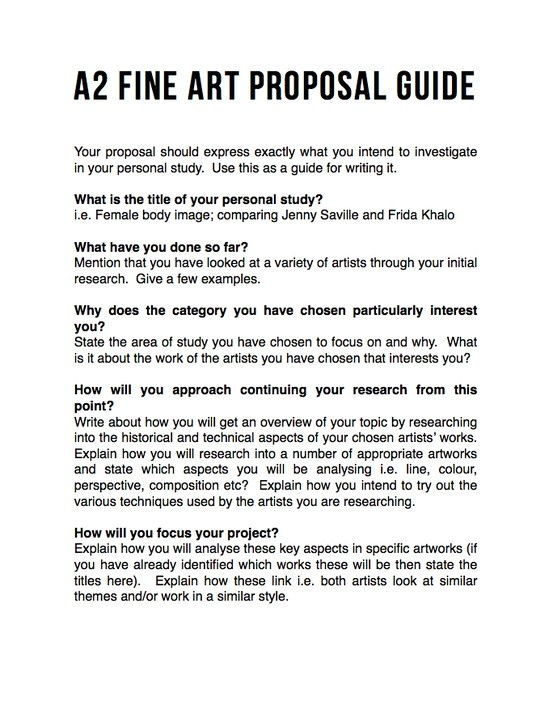 10+ Art Proposal Templates – PDF, Word, Pages