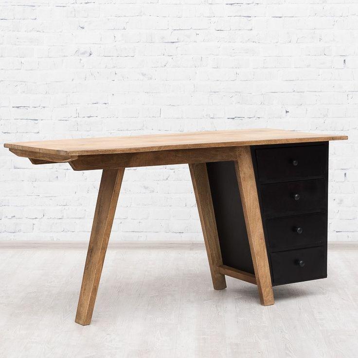 WING письменный стол в индустриальном стиле - Письменные столы и секретеры - Гостиная - Мебель по комнатам Loft Art