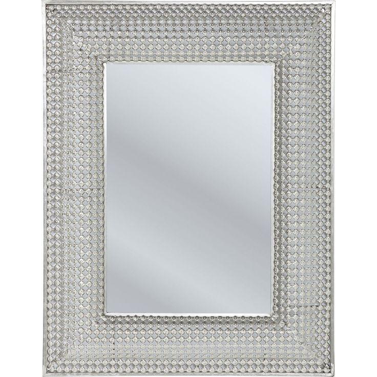 Oglinda Silver Pearls 90x70cm