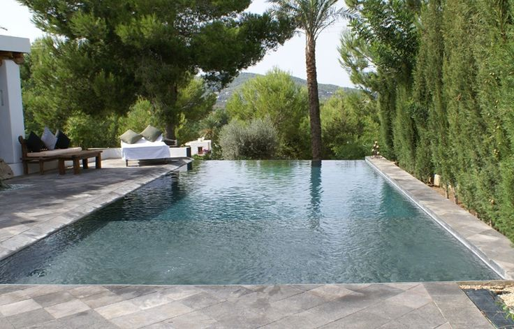 Al Fresco Shower Swimming Pool Designs With Rectangular Swimming Pool Design Dark Grey Stone Tile Outdoor Floor And Swimming Pool In Forest Gorgeous Swimming Pool Design