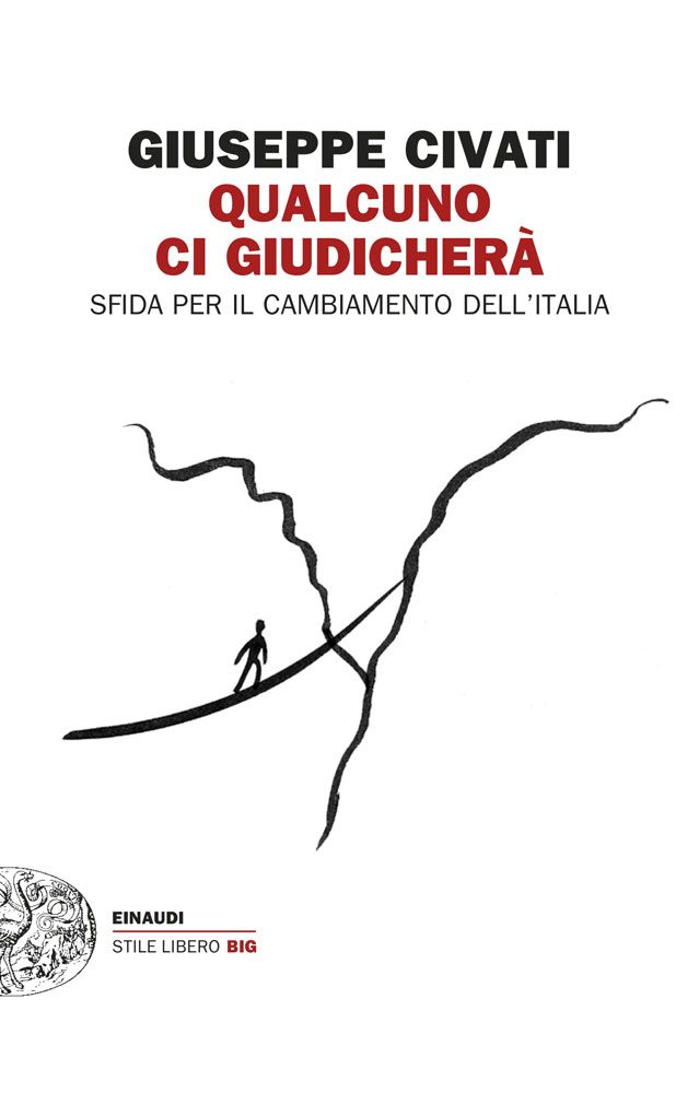 """Giuseppe Civati """"Qualcuno ci giudicherà"""" Illustrazione di copertina: Marco Campedelli - maggio 2014 - Einaudi #coverbooks #marcocampedelli ##einaudieditore"""