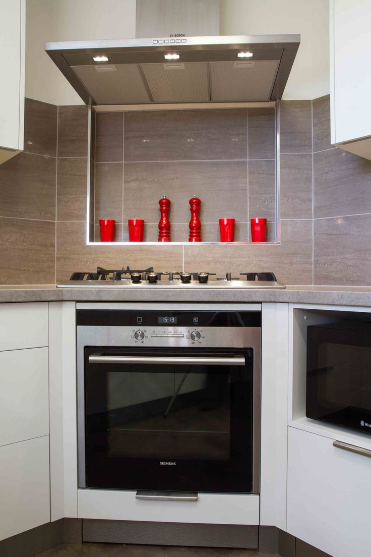 A compact, contemporary kitchen filled with storage! www.thekitchendesigncentre.com.au @thekitchen_designcentre