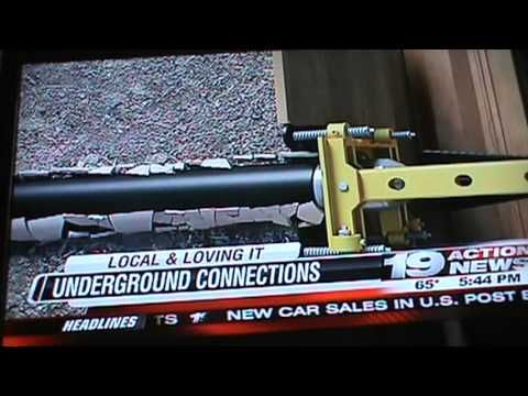 """See Underground Connections featured on Cleveland's 19 Action News """"Local & Loving it"""" segment."""