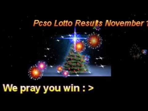 PCSO LOTTO RESULTS  NOVEMBER 18,  2016  Winning Numbers - http://LIFEWAYSVILLAGE.COM/lottery-lotto/pcso-lotto-results-november-18-2016-winning-numbers/