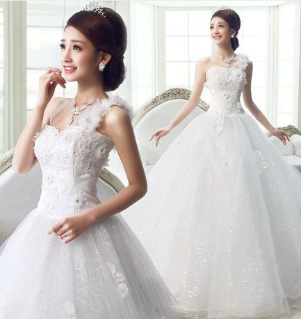 Find More Wedding Dresses Information about 2015 new hot sale simple  sexy backless elegant  beach  sweetheart  lace plus size white wedding dress strapless,High Quality dress japanese,China dress casual shoes men Suppliers, Cheap wedding blue bridesmaid dresses from Playful beauty department store on Aliexpress.com