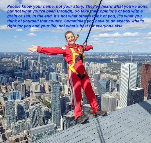 People know your name - CN Tower