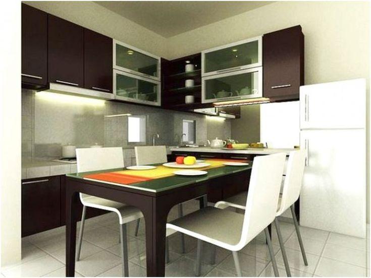 Desain ruang makan dan ruang keluarga minimalis mewah sederhana terbaru