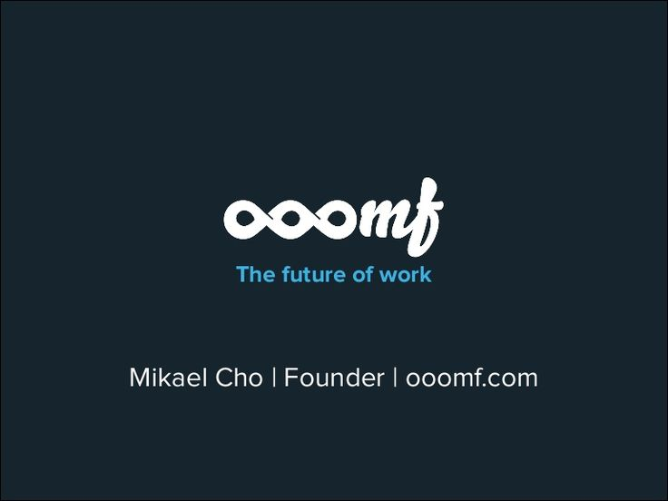 The investor presentation we used to raise 2 million dollars by Mikael Cho via slideshare