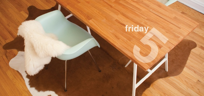 friday five: dining room tour
