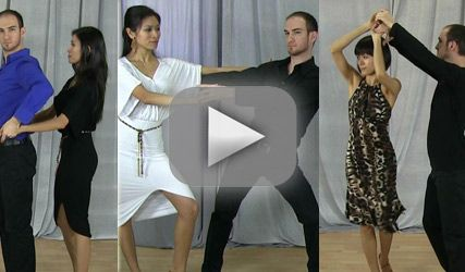 Learn Merengue dance steps online with video lessons. Basic Merengue dance…