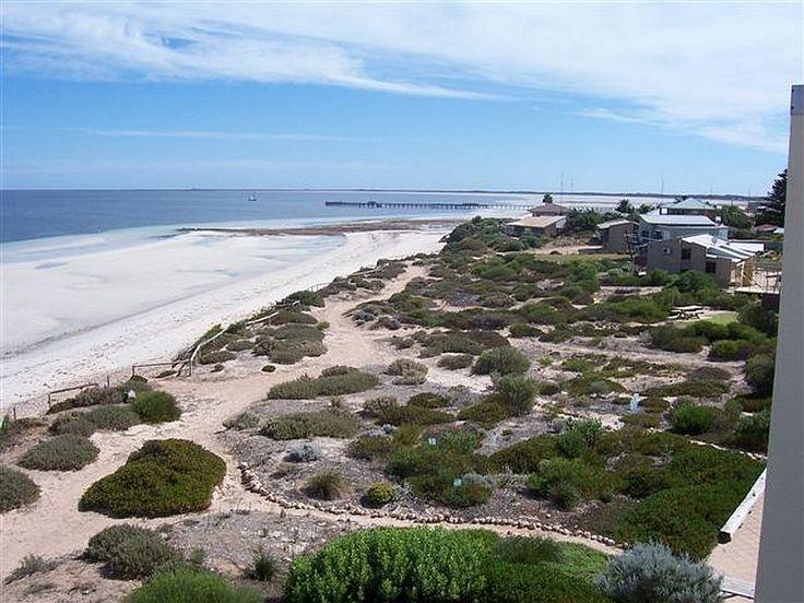 view towards Moonta Bay, Simms Cove