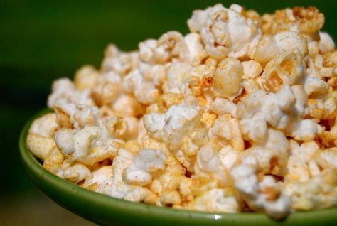 Cajun Popcorn!   Low Sodium - No Salt  You don't miss the salt - this is so good!  I used 1/2 cup of popcorn seeds instead of 1 cup though... so even more seasoning per bite!