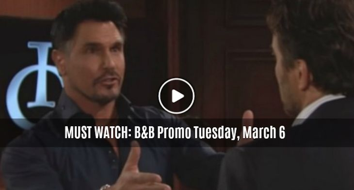 MUST WATCH The Bold And The Beautiful Preview Video Tuesday, March 6: Ridge Explodes, Bill Gives Explicit Details of Bedding Steffy
