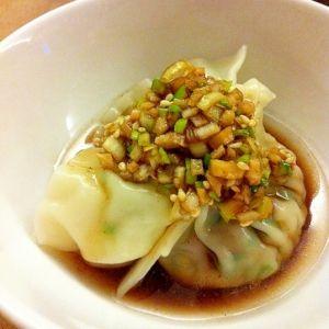 お野菜たっぷりヘルシー水餃子 レシピ・作り方