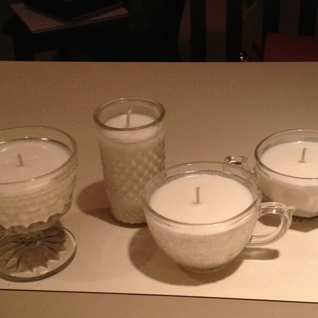 Soy candles, Home made and Candles on Pinterest