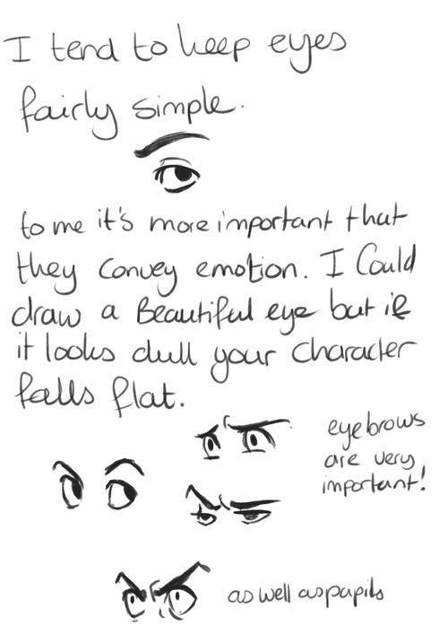 Drawing Faces- viella-art on Tumblr