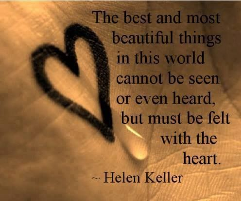 32 best quotes helen keller images on pinterest helen keller helen keller quote on beautiful things love of life quotes by loveoflifequotes altavistaventures Gallery