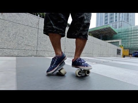 Freeline Skates are Strangely Awesome - Behind the Scenes - YouTube