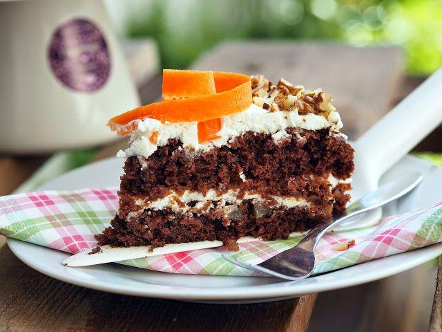 SMOOTH COOKING : MRKVOVÝ DORT neboli CARROT CAKE